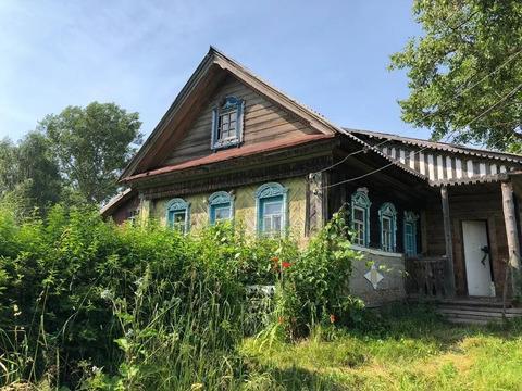 Дом в деревне Дворищи Юрьевецкого района