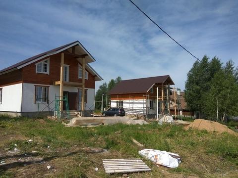 Дом 120 кв.м, Участок 6 сот. , Рогачевское ш, 25 км. от МКАД. .