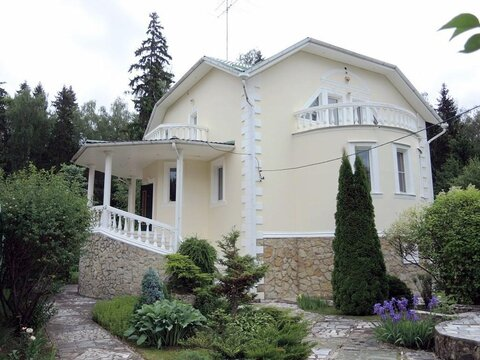 Дом 300 м2, участок 10 сот, Рублево-Успенское ш, 32 км от МКАД, .