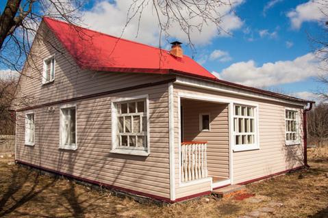 Жилой дом из бруса д. Родионово, рядом с Санино