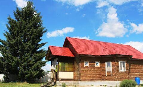 Дом с баней в деревне