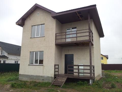 Продается новый дом 168м2 на 9сот с. Малышево, Раменский район