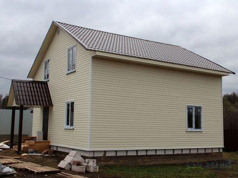 Новый двухуровневый дом площадью 140 кв.м. 'под ключ'.