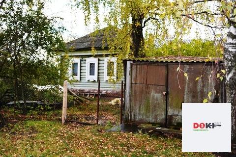 Бревенчатый дом на 50 сотках