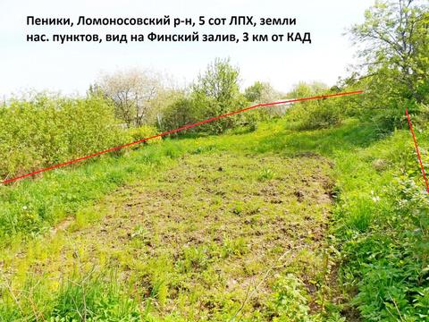 Продажа участка, Пеники, Ломоносовский район, Новая ул.