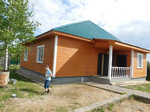 Дом в подмосковье в деревне для ПМЖ Калужское Киевское с пропиской