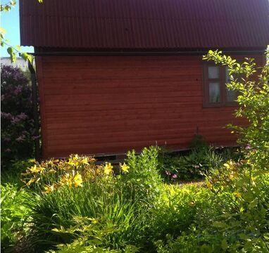 Чистый, свежий, дачный дом с печью 50 кв.м. на участке 6 .