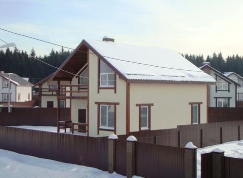 Продаётся новый дом 155 кв.м с участком 8 соток - 36 км от МКАД