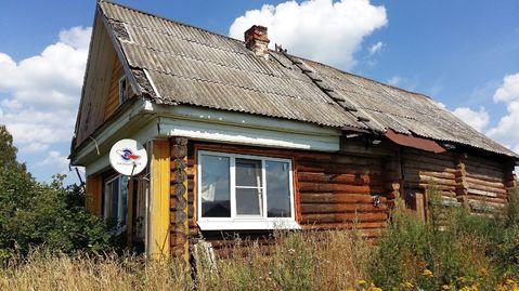 Бревенчатый дом с на участке 19,5 соток в селе Церковное