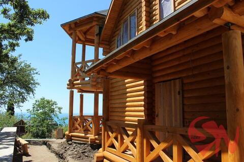 Предлагаю купить качественный дом-сруб в Алупке с потрясающим видо