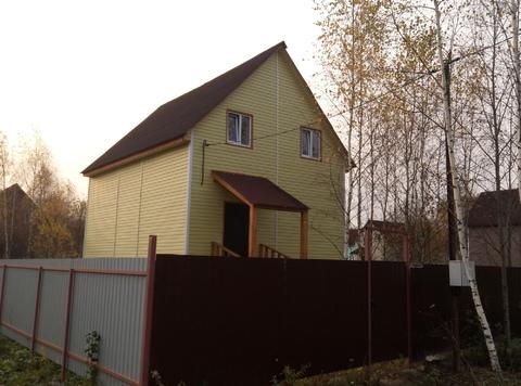 Купить дом из бруса в Истринском районе д. Бабкино