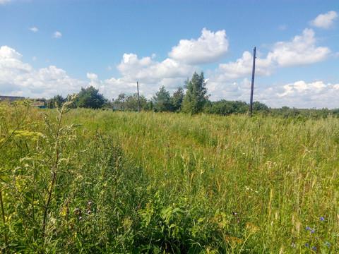 Продам участок 15 сот в д. Строево для ведения ЛПХ Кимрский район