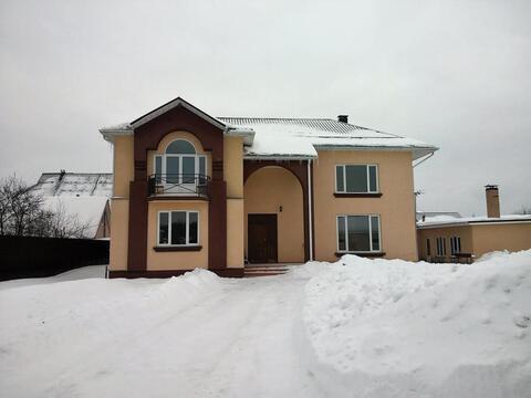 Дом 300 кв.м, Участок 12 сот. , Пятницкое ш, 14 км. от МКАД.