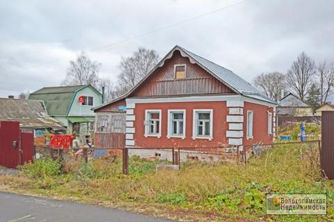 Дом с газом в центре Волоколамска