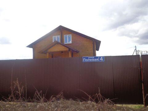 Жилой дом новостройка пл. 150м на уч. 10 соток в д. Барабаново .