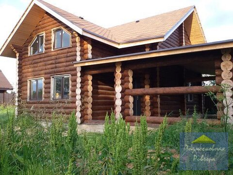Новый качественный бревенчатый сруб 200 м2 в деревне Лешково