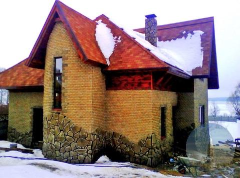 402. Волжанка. Дом 220 кв.м. с участком 11 соток на 1-й линии Волги.