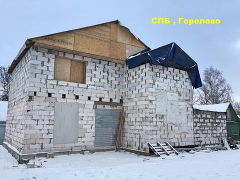 Спб , Горелово , дом 160 кв.м. на 6.2 сотках