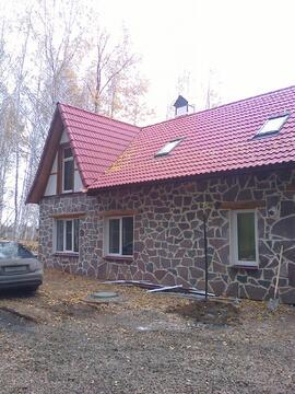 Дом на опушке соснового леса