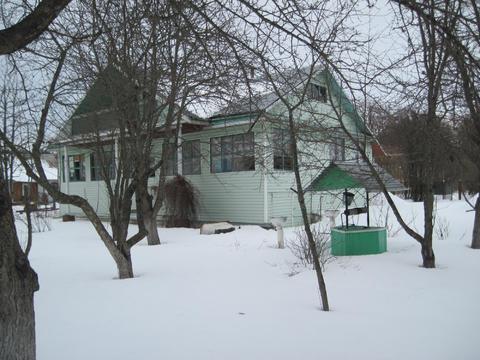 Добротный дом на границе Московской области