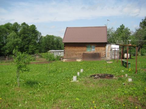 Продается участок 14 соток с домиком в деревне Кулаково