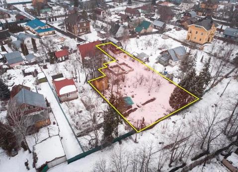 Продается земельный участок с дом