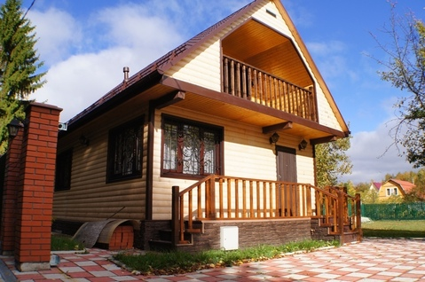 Продается новая дача на участке 10 соток, Наро-Фоминский район