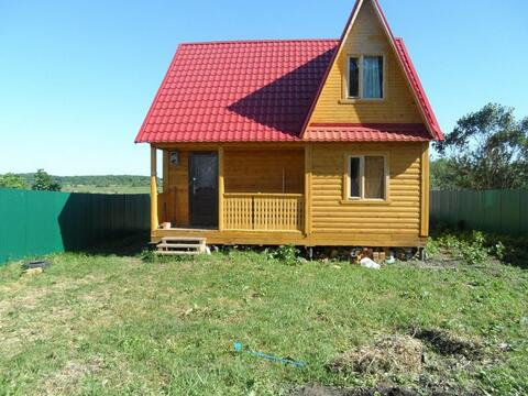 Дом рядом с водохранилищем в Рыбновском районе, д.Глебово Городище.