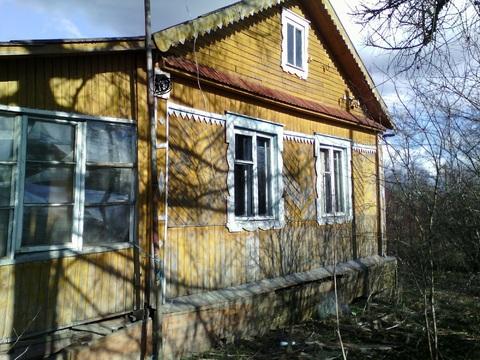 Продам дом 42 кв.м на участке 7 соток Лен.обл.г.Любань, ул.Октября