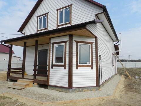 Продам дом « под ключ» Калужское Киевское шоссе, 80км от МКАД Машково