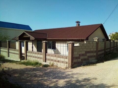 Продается новый дом 102 кв.м. на Фиоленте