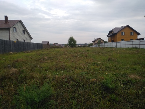 Участок 6 соток в деревне Большое Петровское, Чеховский район