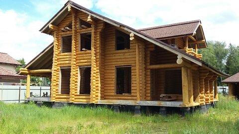 Загородный дом и баня из кедра ручной рубки, Минское шоссе, охрана