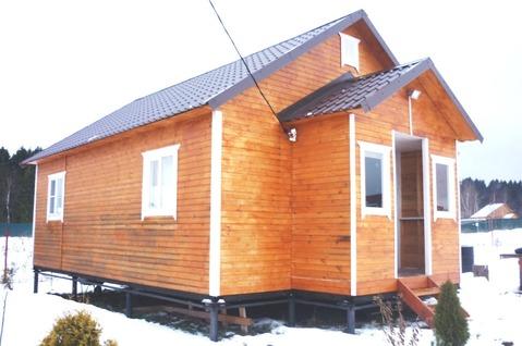 Новый дом 48 кв.м ДНП Удачный , Сергиево-Посадский р, дер. Дубининское