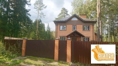 Коттедж 224.7 м2 и 21.5 сот в д. Мизиново, Щелк.р-н, 30 км от МКАД.