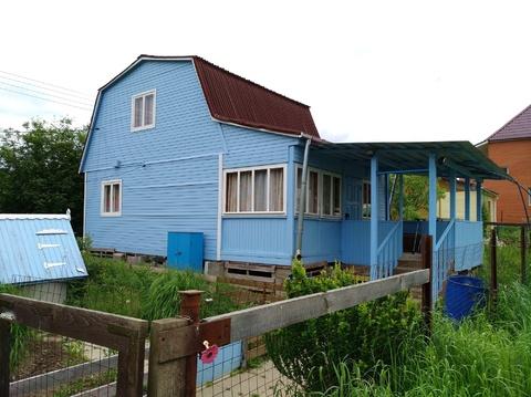 Дом 76 м2 на участке 6 соток в СНТ Металлург-8, до г. Ступино 2 км