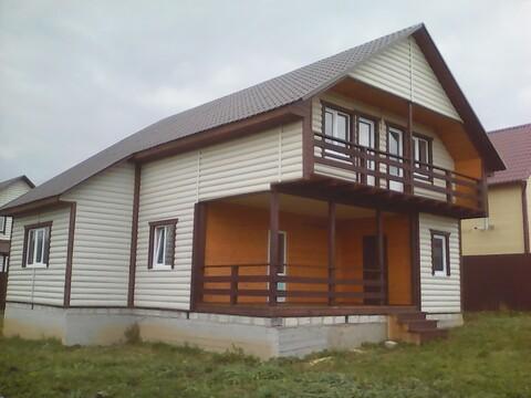 Комфортабельный и весьма бюджетный загородный дом.