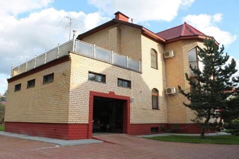 Дом 418 м2 на участке 25 соток в 1,5 км от Пироговского .
