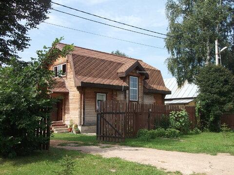 Дом с участком ИЖС 110 кв.м.г. Апрелевка, ул Некрасова д 30