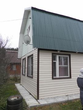 Двухэтажная дача в СНТ