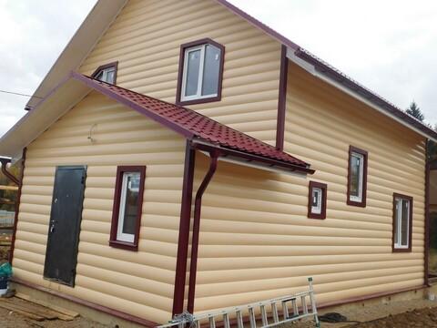 Дом крайний к лесу с видом на озеро в деревне Алопово в 70 км от МКАД