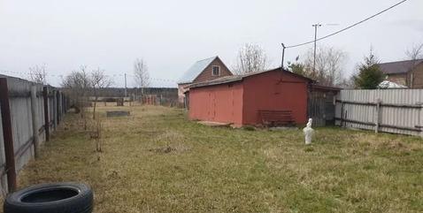 Продам земельный участок с домиком под ИЖС