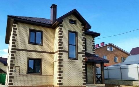 Двухэтажный коттедж на Красной Площади (Краснодар)