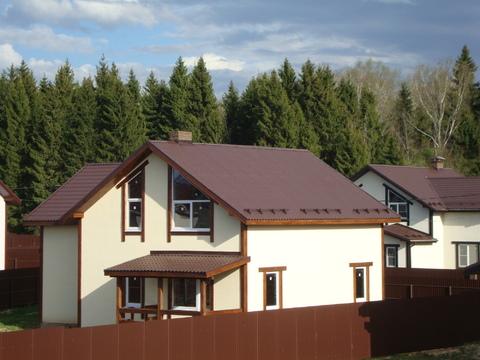 Продаётся новый дом 225 кв.м в пос. Подосинки с участком 10 соток.