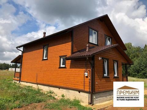 Продается новый дом 155м2/8с д. Орехово, Жуковский р-н, Калужская обл.