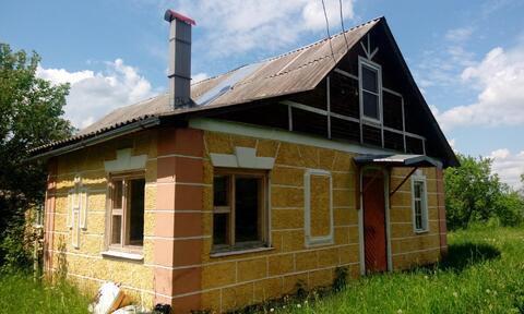 Дом ПМЖ 92м2 на участке 12 соток в д. Колычёво, Ступинского р-на