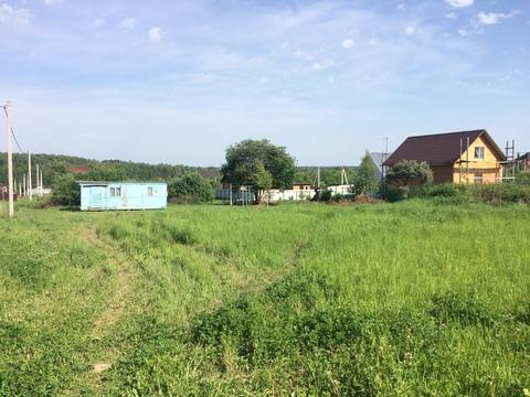 Участок 9 соток в деревне Гришенки Чеховский район
