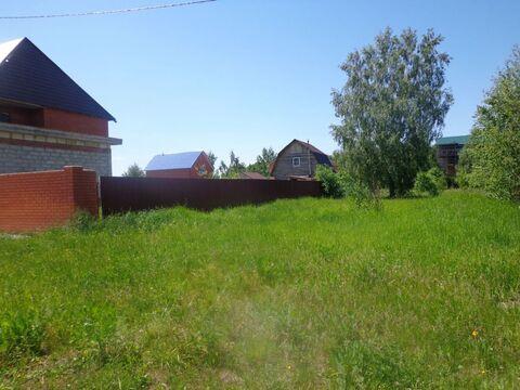 Земельный участок 10 соток в г. Ожерелье Каширского р-на Московской .