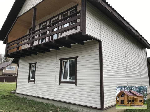 Дом для большой семьи на прелестном участке Калужское варшавское шоссе