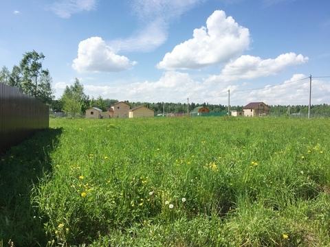 8 соток в жилой деревне Беклемишево 45 км от МКАД по Дмитровскому ш.